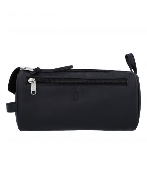 Debussy Large Toiletry Case-Black Silver-7202152901